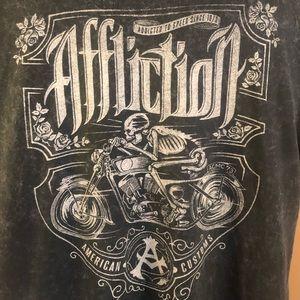 Men's Affliction American Customs Shirt